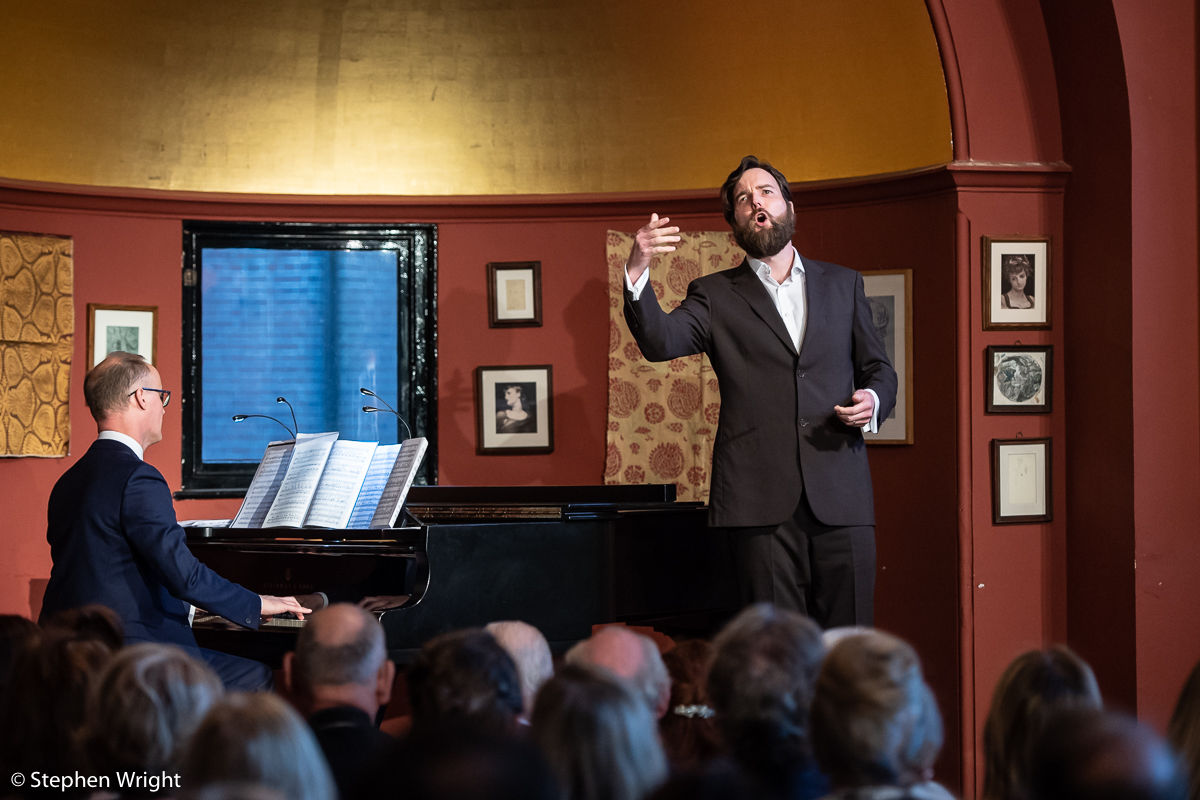 Opera Holland Park  host the pre season event  Prelude  at  Leighton House Museum .