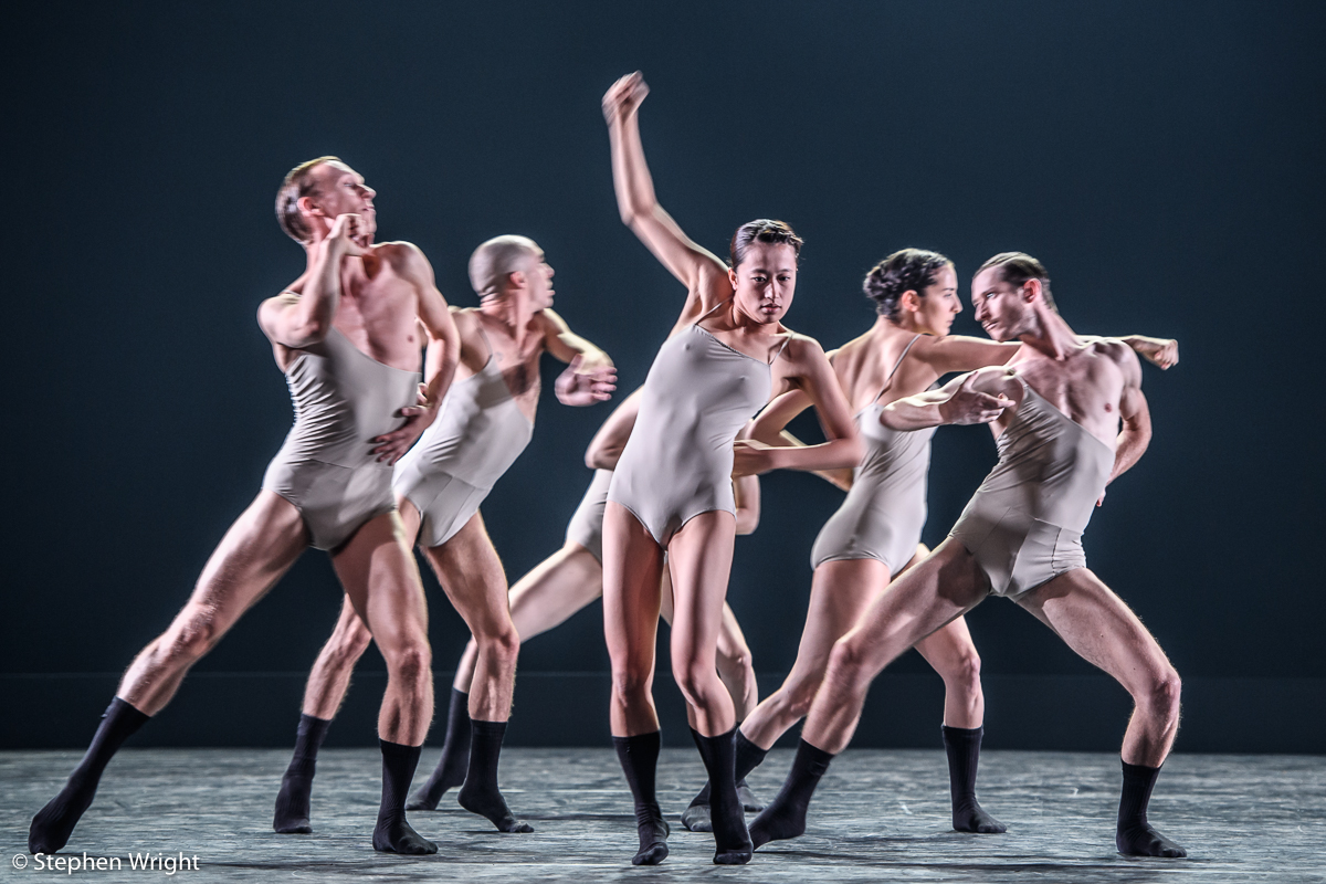 Love Chapter 2  danced by  L-E-V  and choreographed by  Sharon Eyal  at  Sadler's Wells.