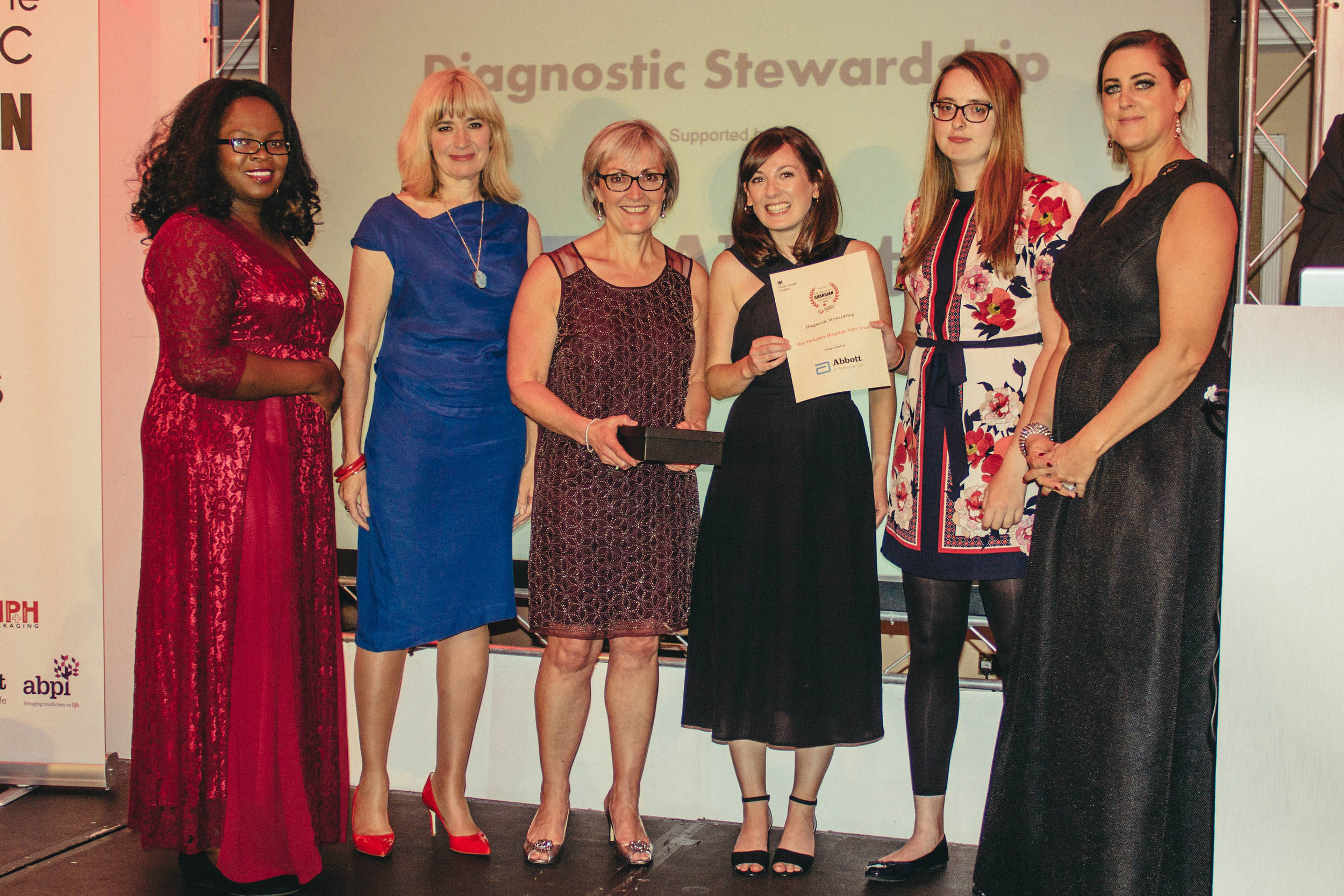 Diagnostics winner - Mid Yorkshire Hospitals NHS Trust
