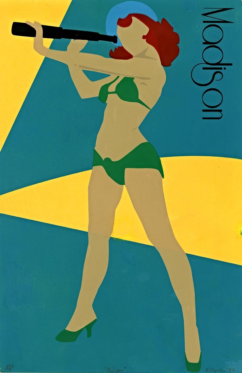 "Madison   Silkscreen   11"" x 17""   2012"