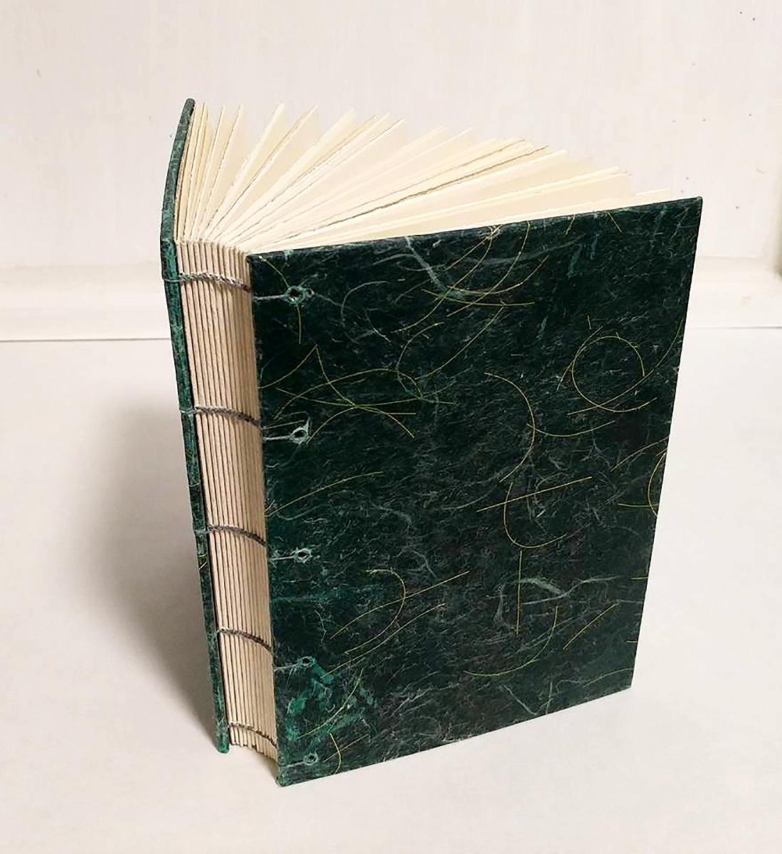 Custom Order Coptic bound journal | 2017