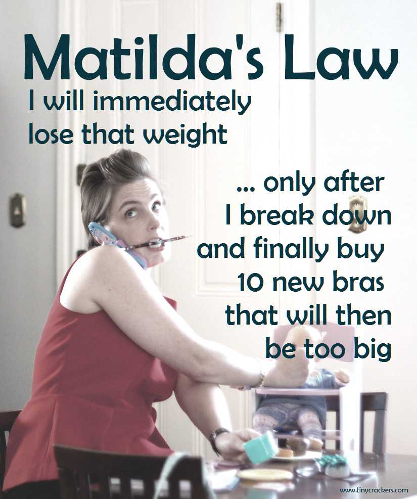 matilda's law on losing weight