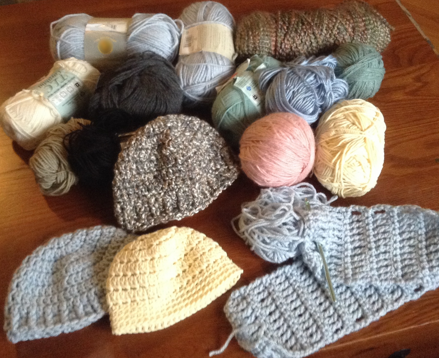 So much yarn, so little time