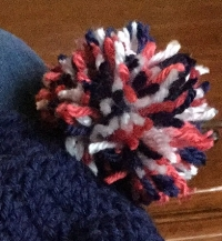 This second pom-pom came out much better