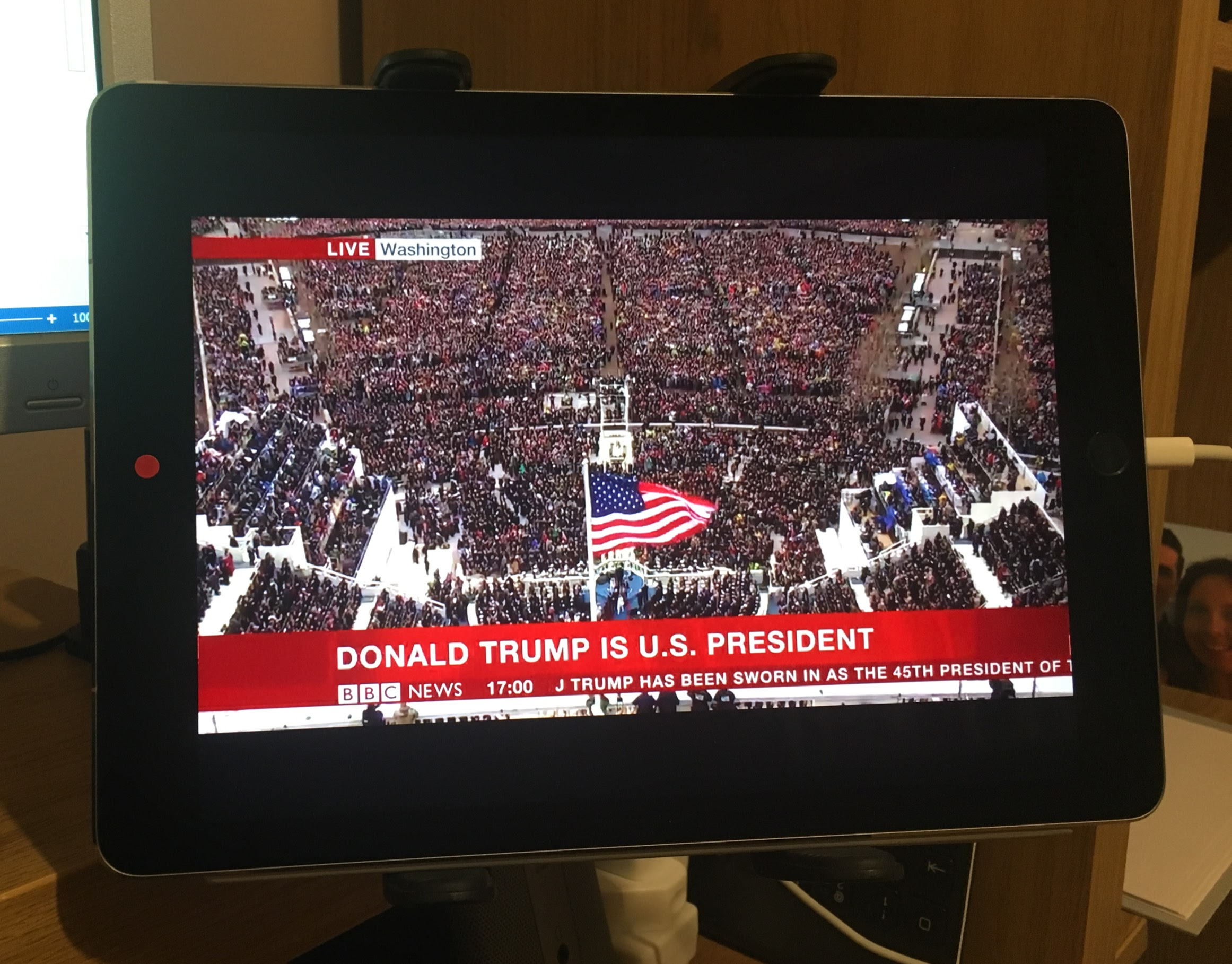 My View of Trump's Inaguration