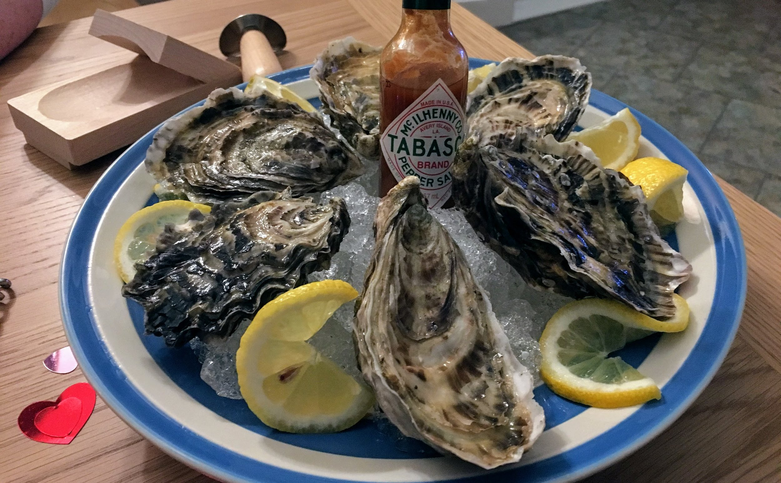 Cornish Oysters at Home