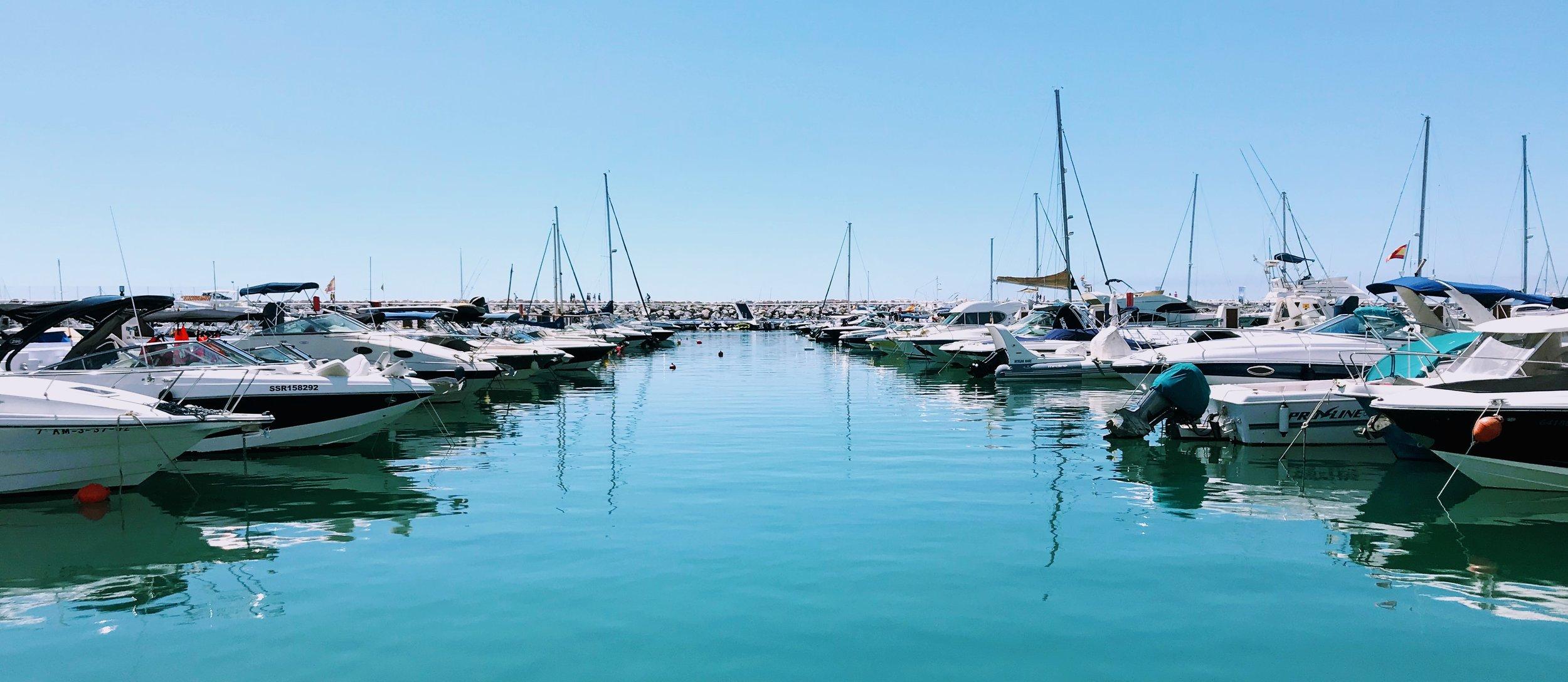Puerto Banús Marina, Málaga, Spain