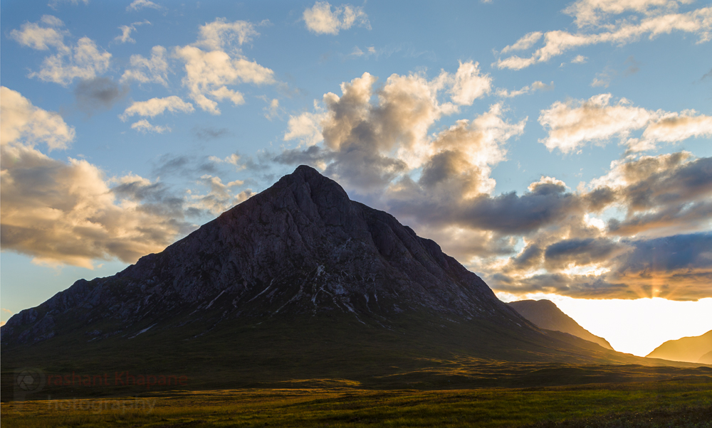 In the shadow of a giant, Glen Coe.