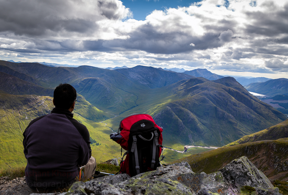 My definition of when to take a selfie. I have to be at least 500ft above sea level. Stob Dearg in Buachaille Etive Mor