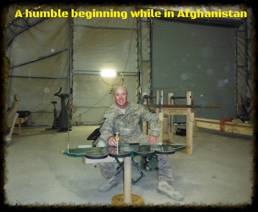 A humble beginning in Afghanistan