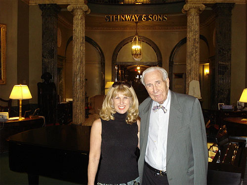 With Henry Steinway