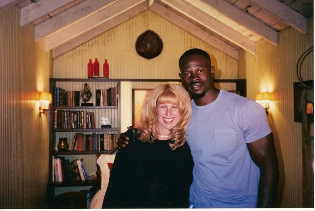 With Djimon Honsou