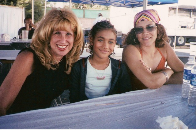 With Paige Hurd and Cheryl Martin