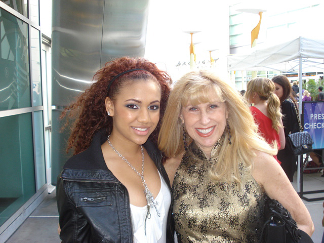With Paige Hurd at premier of  The Last Song
