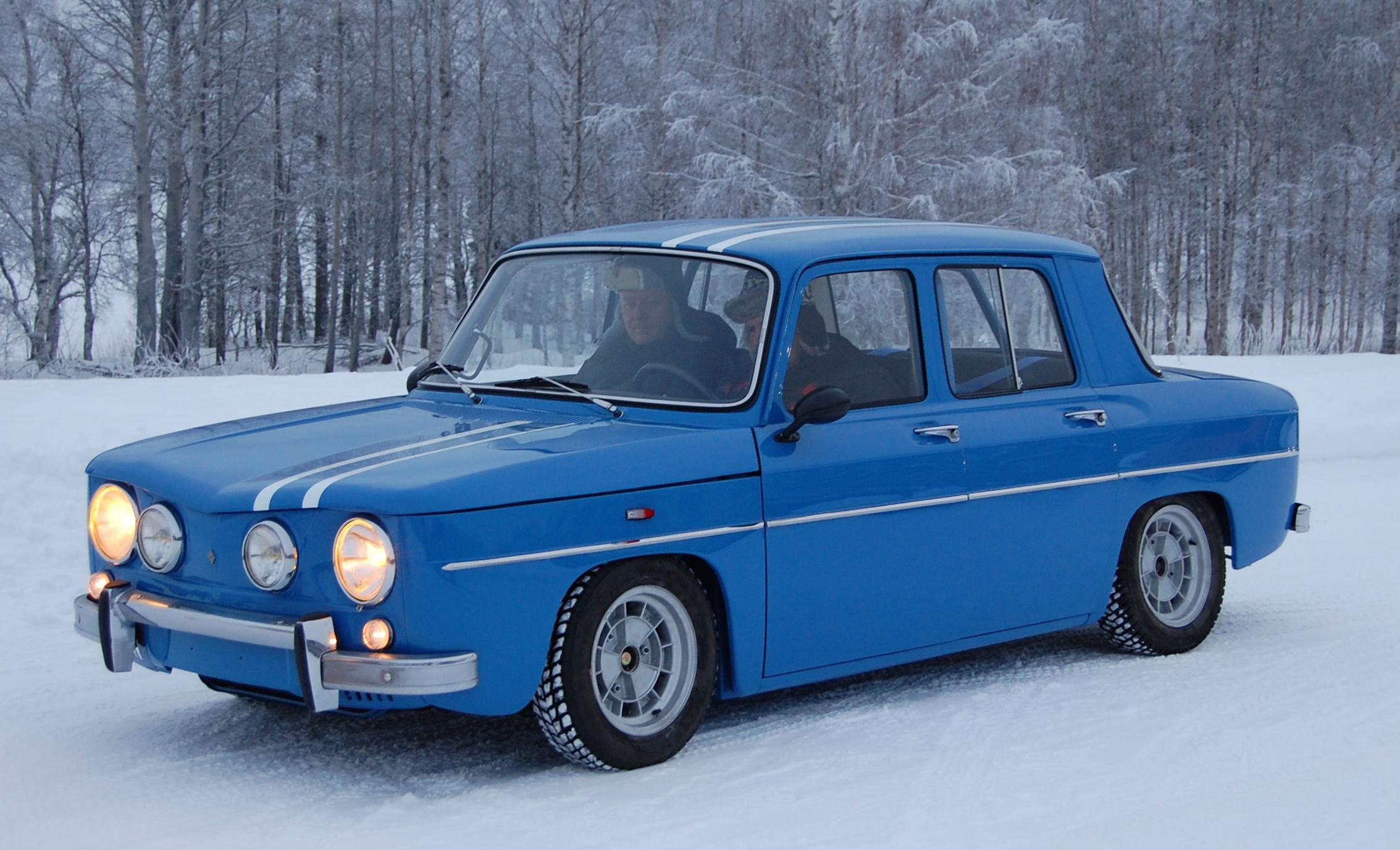 Auton ensiesiintyminen Ranuan jääratapäivillä vuonna 2014