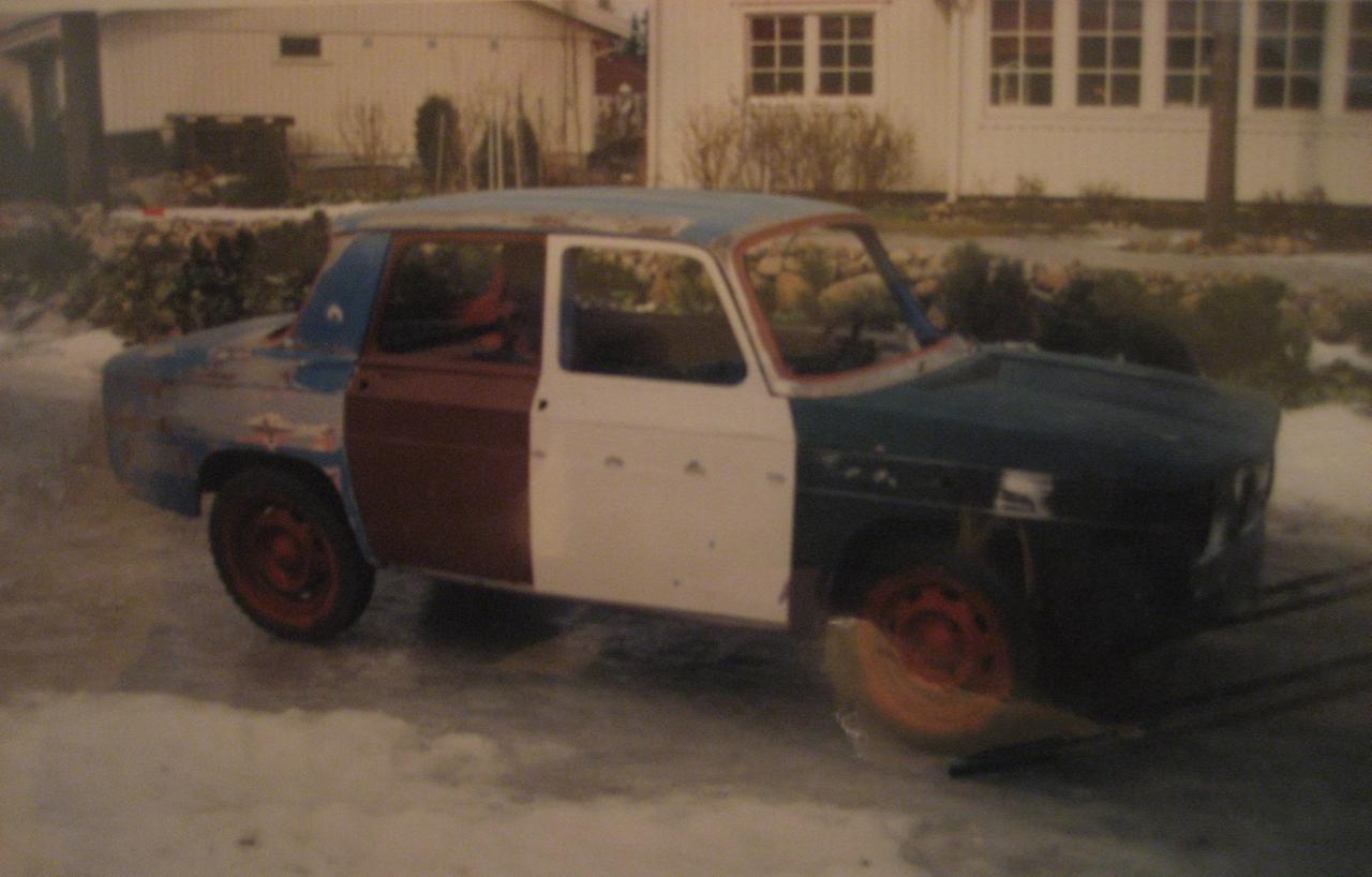 Maalaukseen lähdössä vuonna 1991