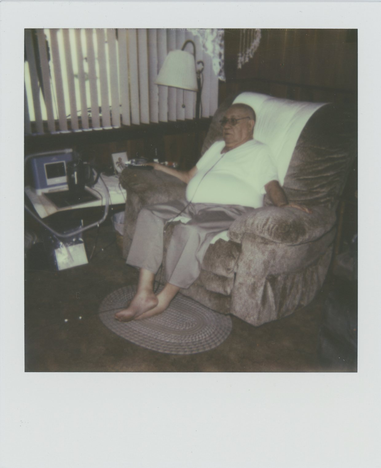 Papaw in his Chair