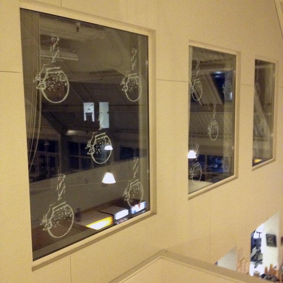 Miley Cyrus Window Installation