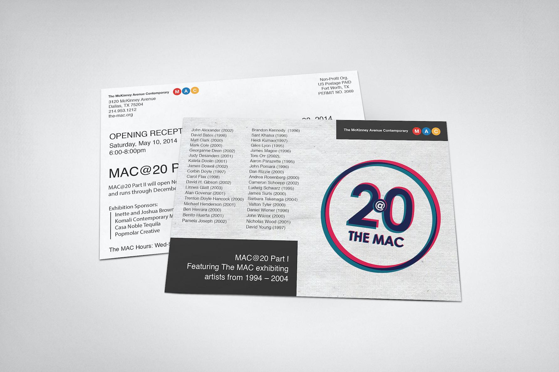MAC@20 Exhibition