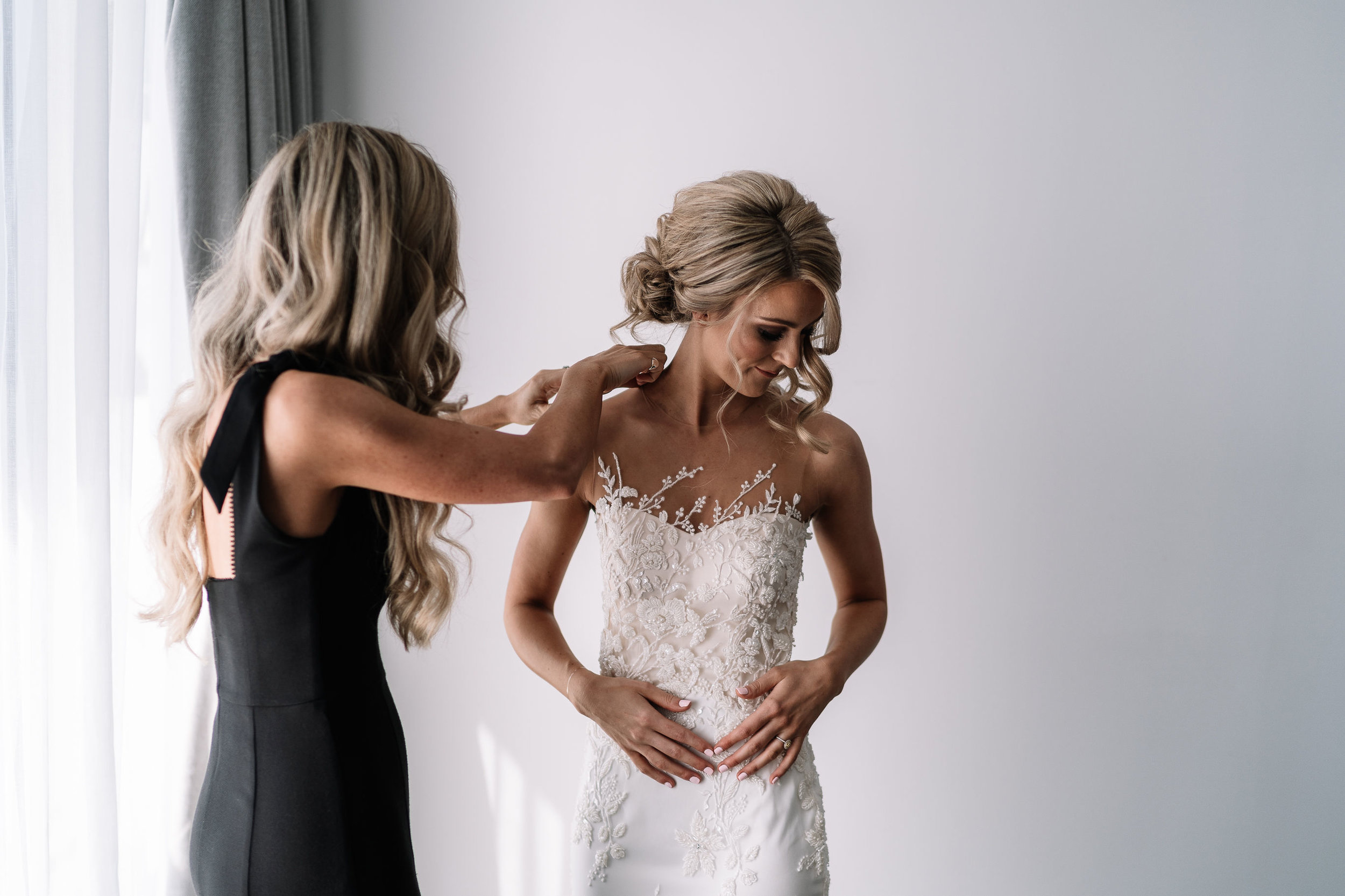 "Nicole, April 2019 - ""Just wanted to send you an email saying thank you so much for my wedding dress, it was absolutely perfect!! The changes we made looked amazing and the fit was just perfect.Thank you also for all your support and reassurance in the lead up to my wedding. You were always the professional but also a personal touch, especially for me as I was trying to make all the decisions on my own with family being back in Australia.After visiting so many dress stores and have no luck what so ever I was feeling completely defeated. We sat down and discussed what I had envisaged, looked through the catalogs and then tried dresses that we chose together, finding my Viero dress. Just a perfect experience, from start to finish!!""- Nicole"