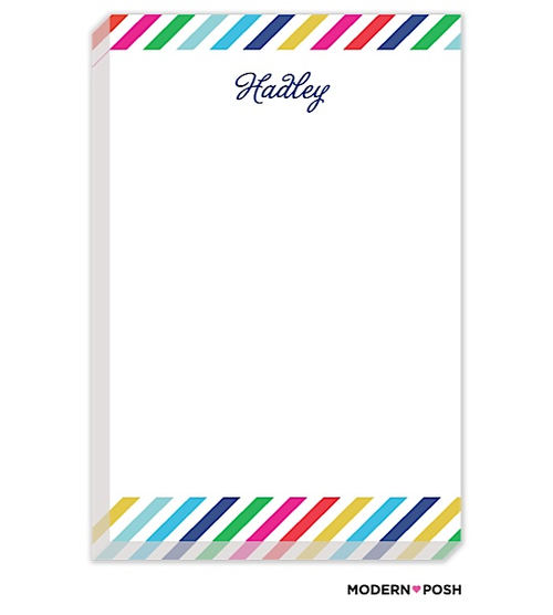 Anyone else feel like they can't have too many notepads?! I feel like I'm always reaching for something to jot a note. Those to-dos would be much more fun on this beautiful paper.