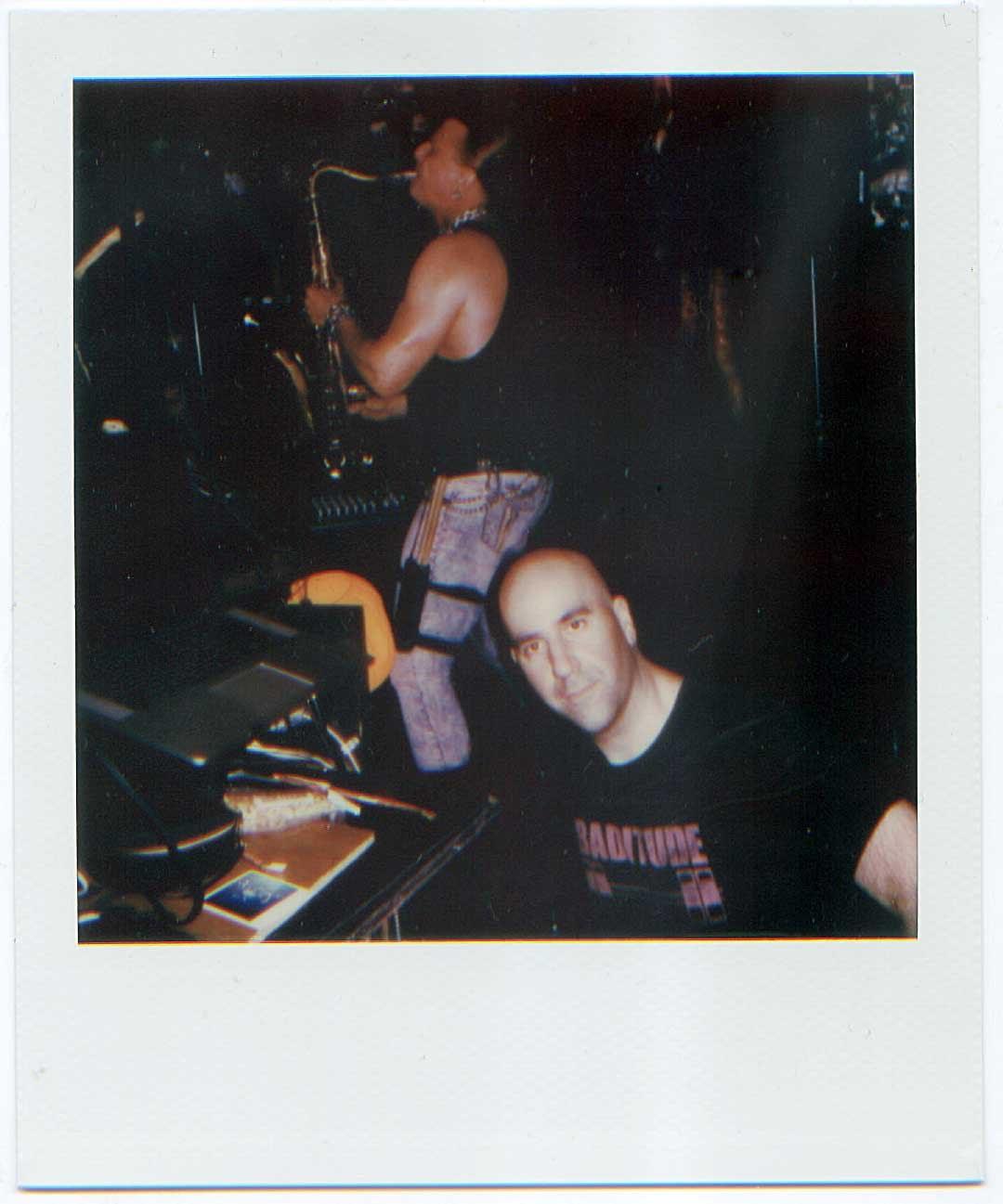 Polaroid photo: Kyle Miller