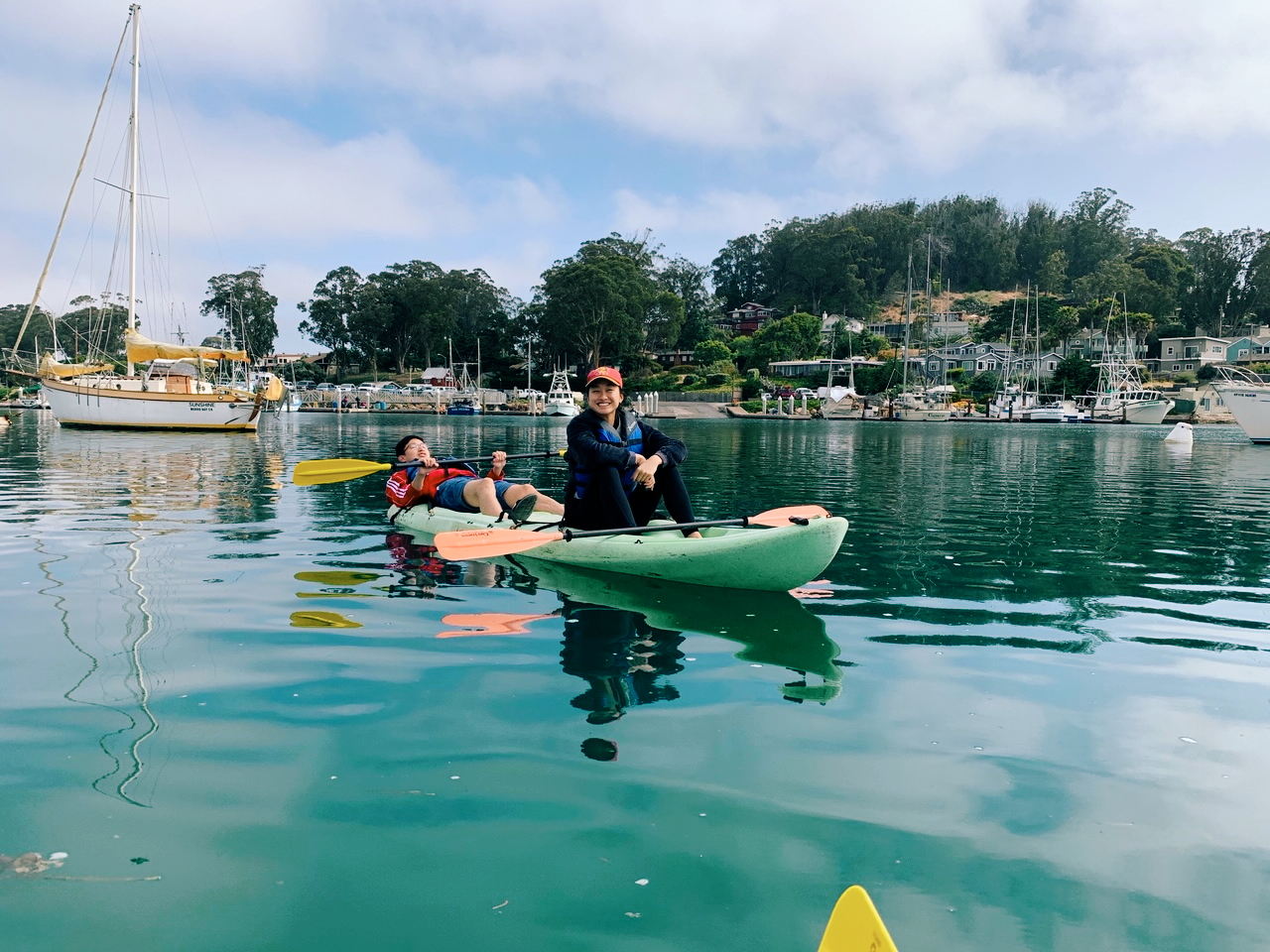 Kayaking on Morro Bay!