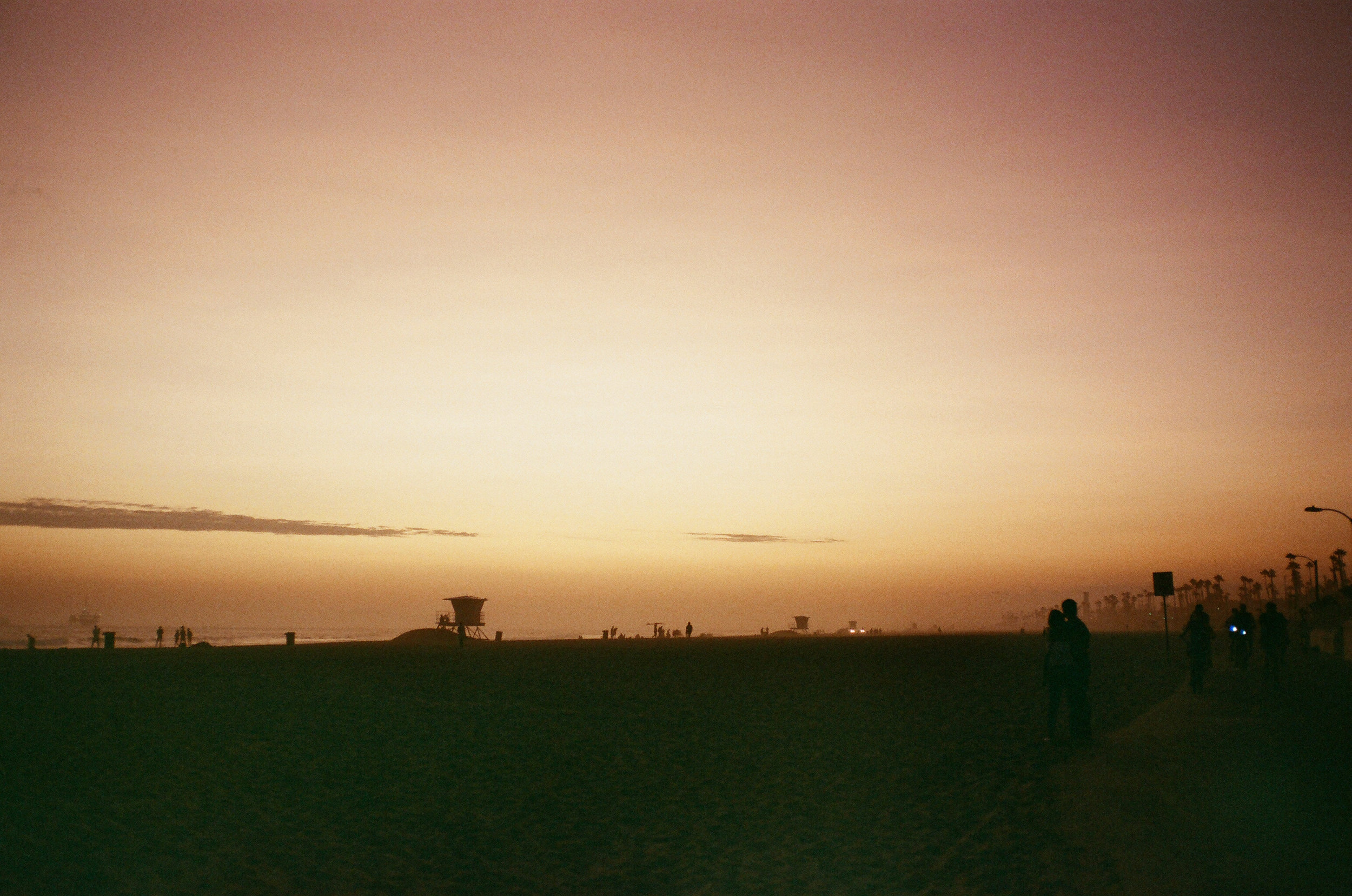 An ethereal sunset at Huntington Beach. Constantly, constantly, constantly in awe of the beauty of the world.