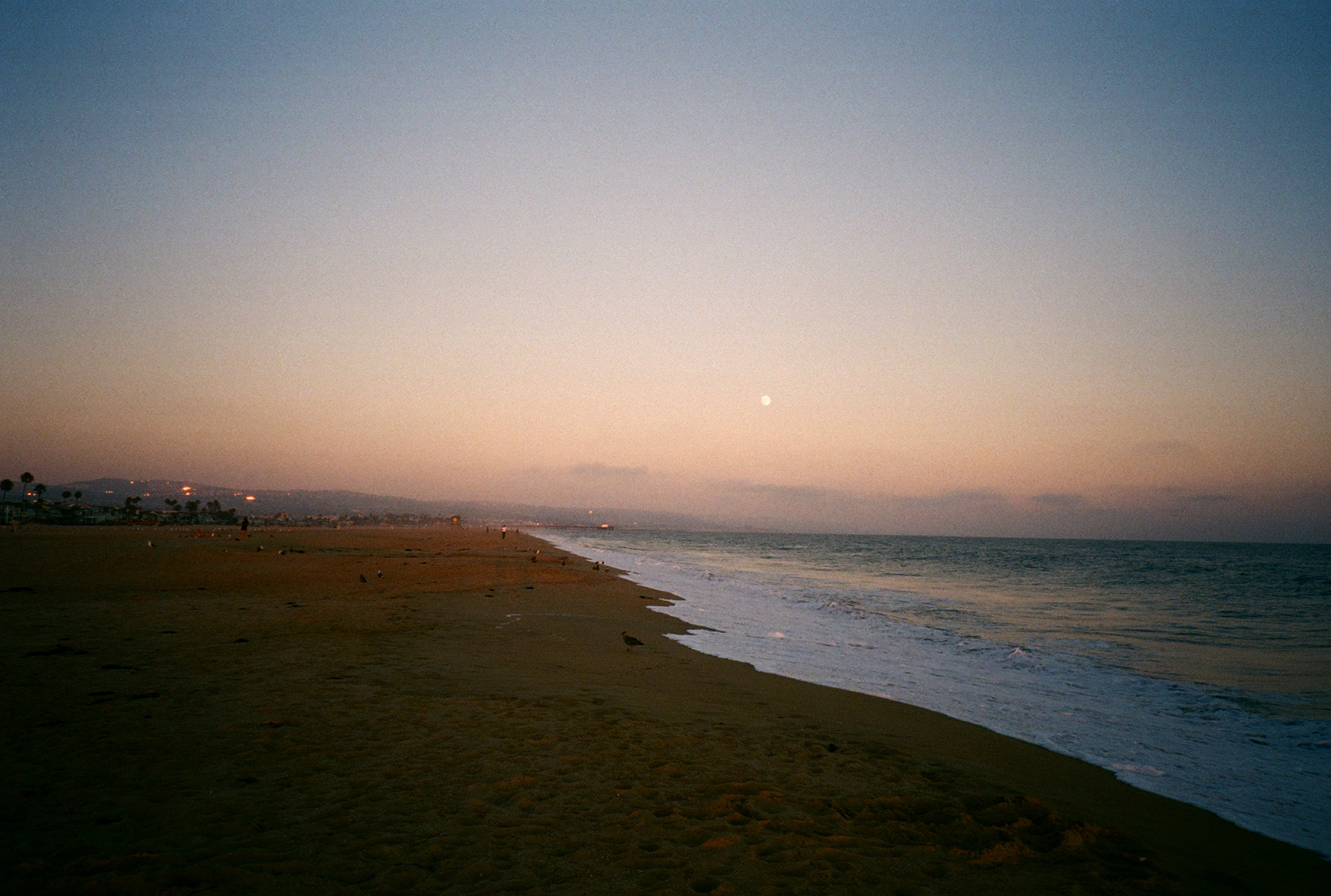 I really love this recent roll from the Olympus XA4 and Fuji C200. I think I might be having some underexposure issues, but I also don't remember if I set the ISO properly for this roll. The consistency of beautiful sunset gradients in SoCal is unreal.
