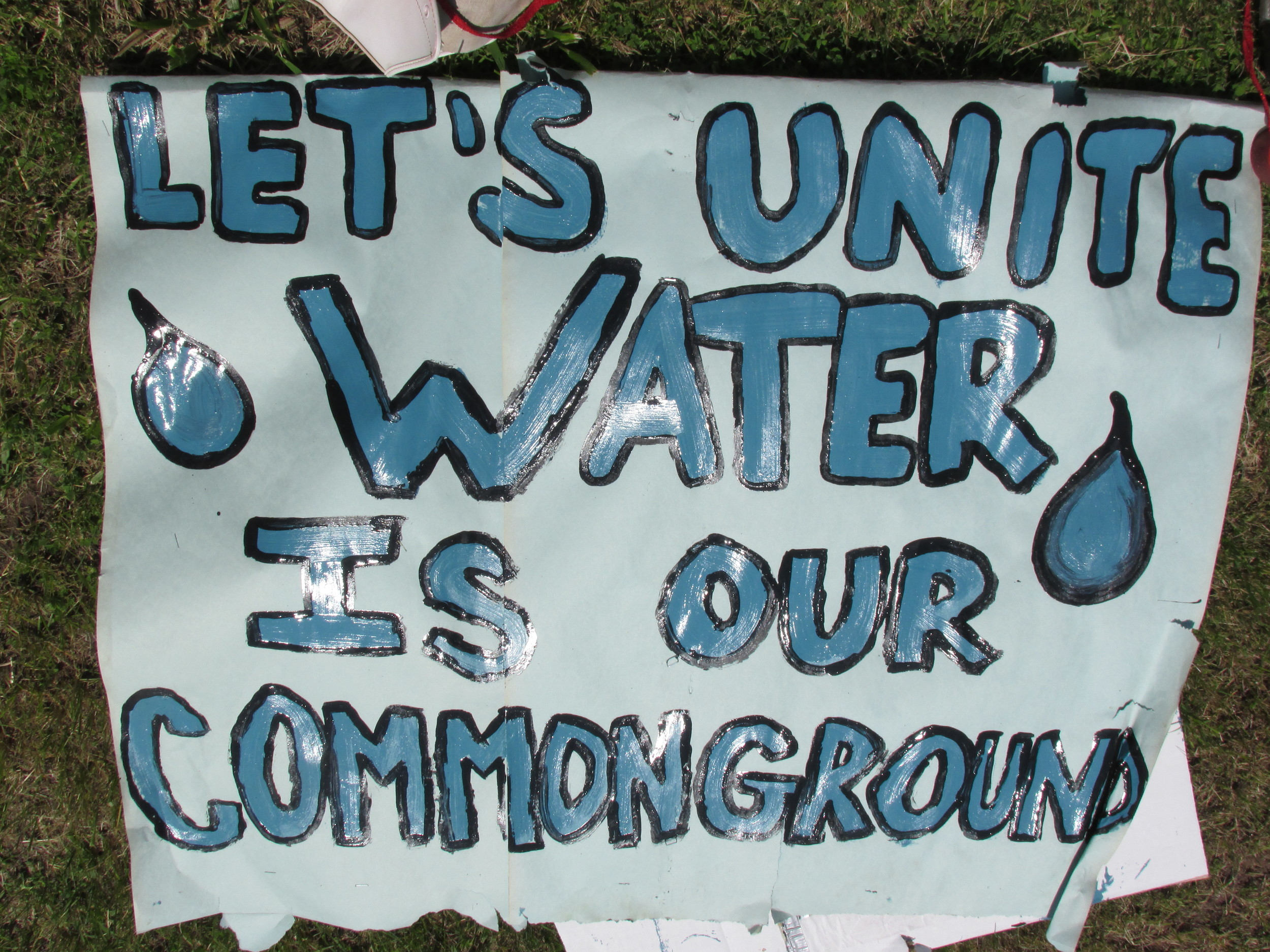 Unite, Water is our Common Ground