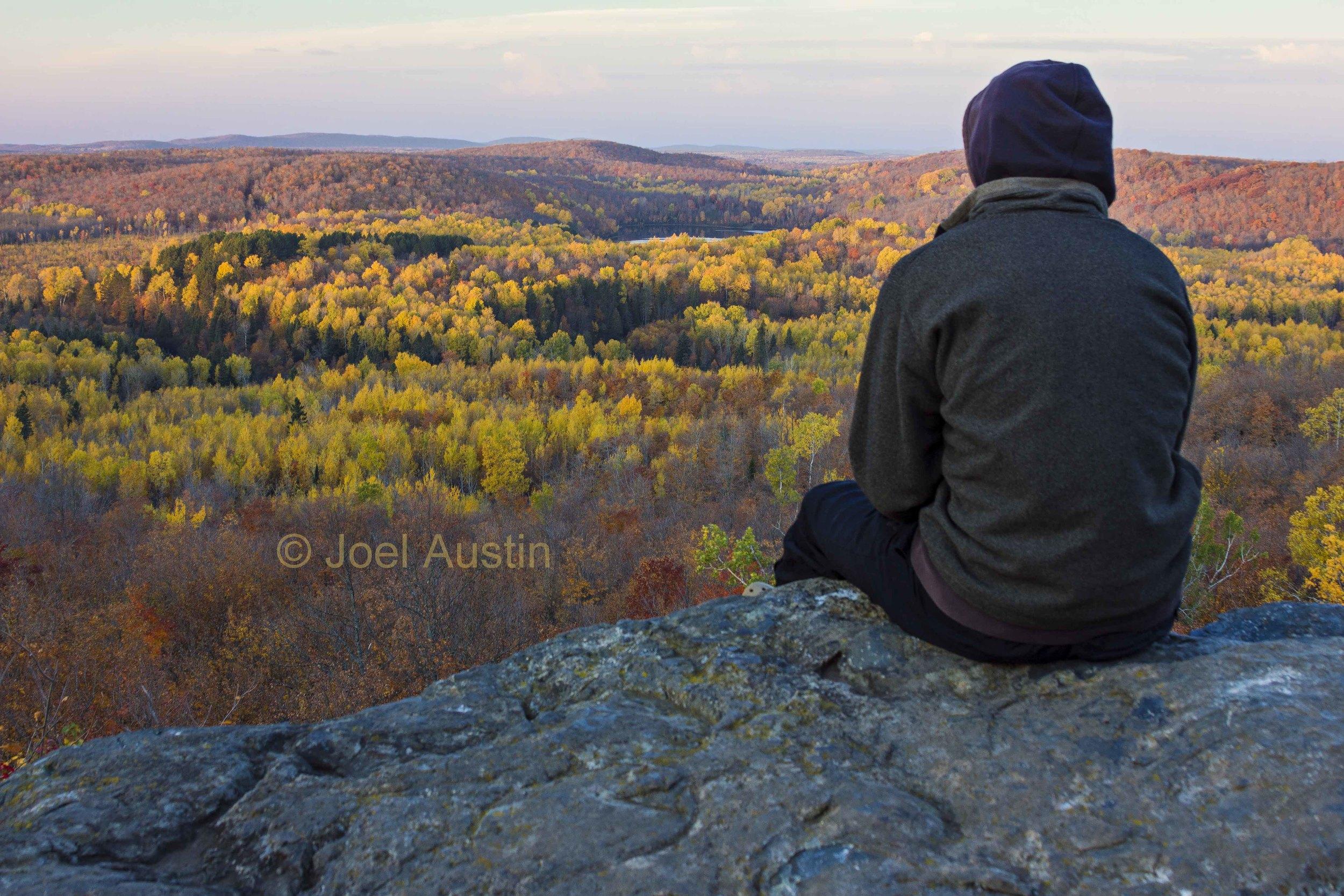 Corrigan's Lookout Fall Color