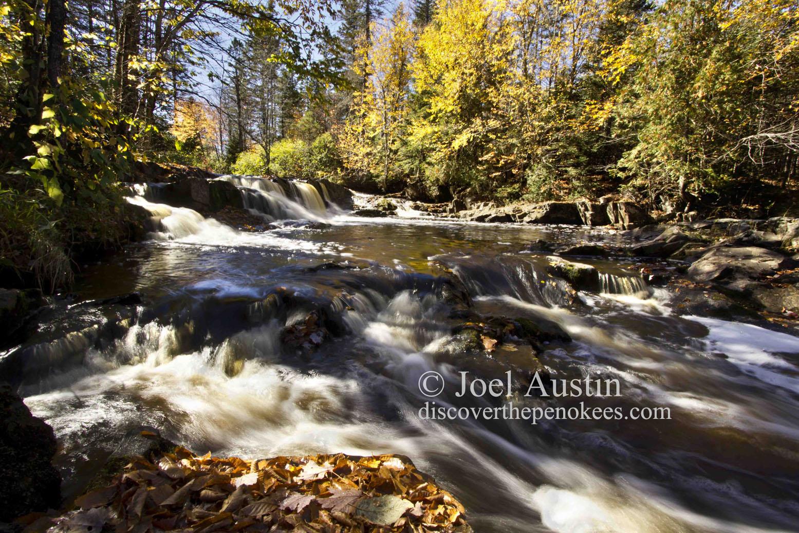 Little Balsam Falls.
