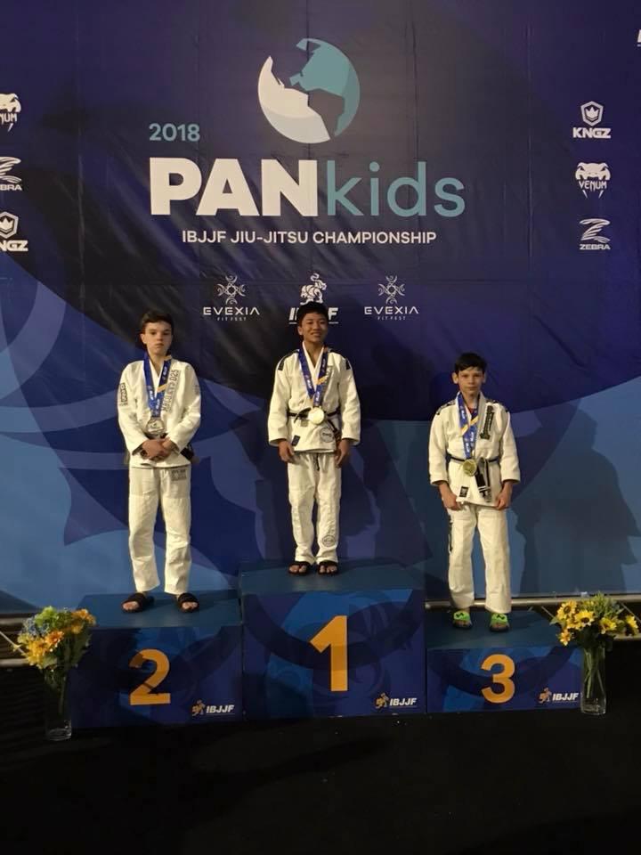 Jarren Seson at 2018 PanKids - Gold Medal