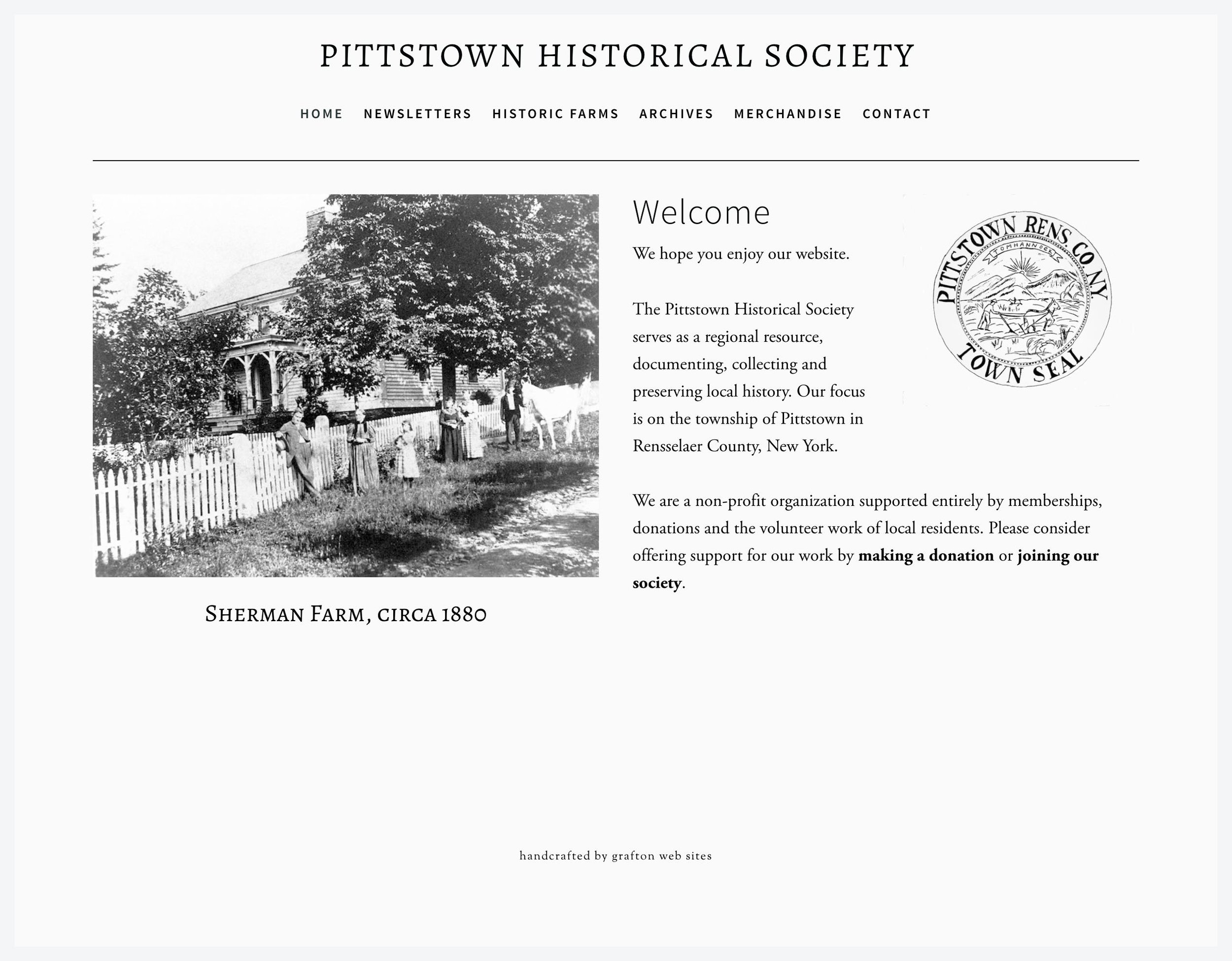 Pittstown Historical Society, Pittstown, NY