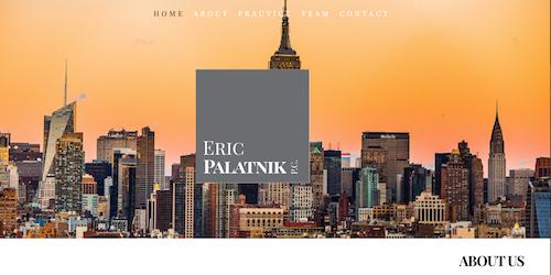 Eric Palatnik, P.C., New York, NY
