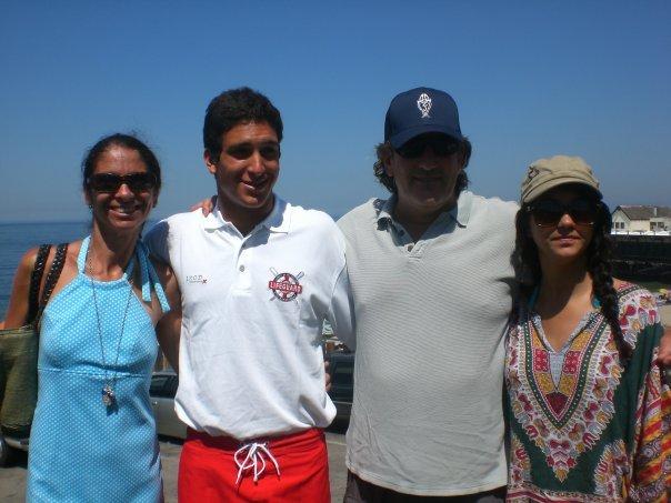 Jennifer, Ryan, Larry and Courtney Aronson