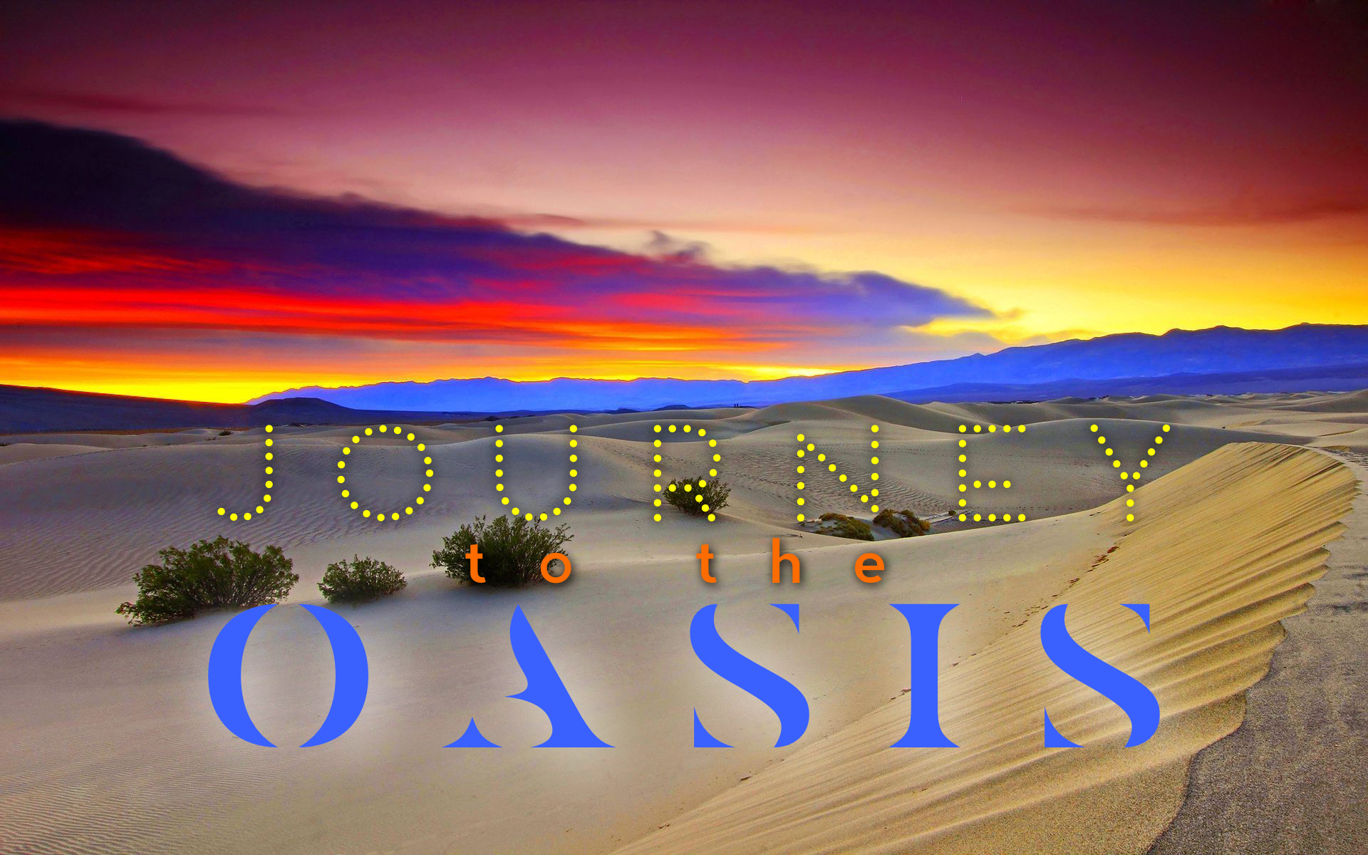 Journey to the Oasis  (Grade 3.5)