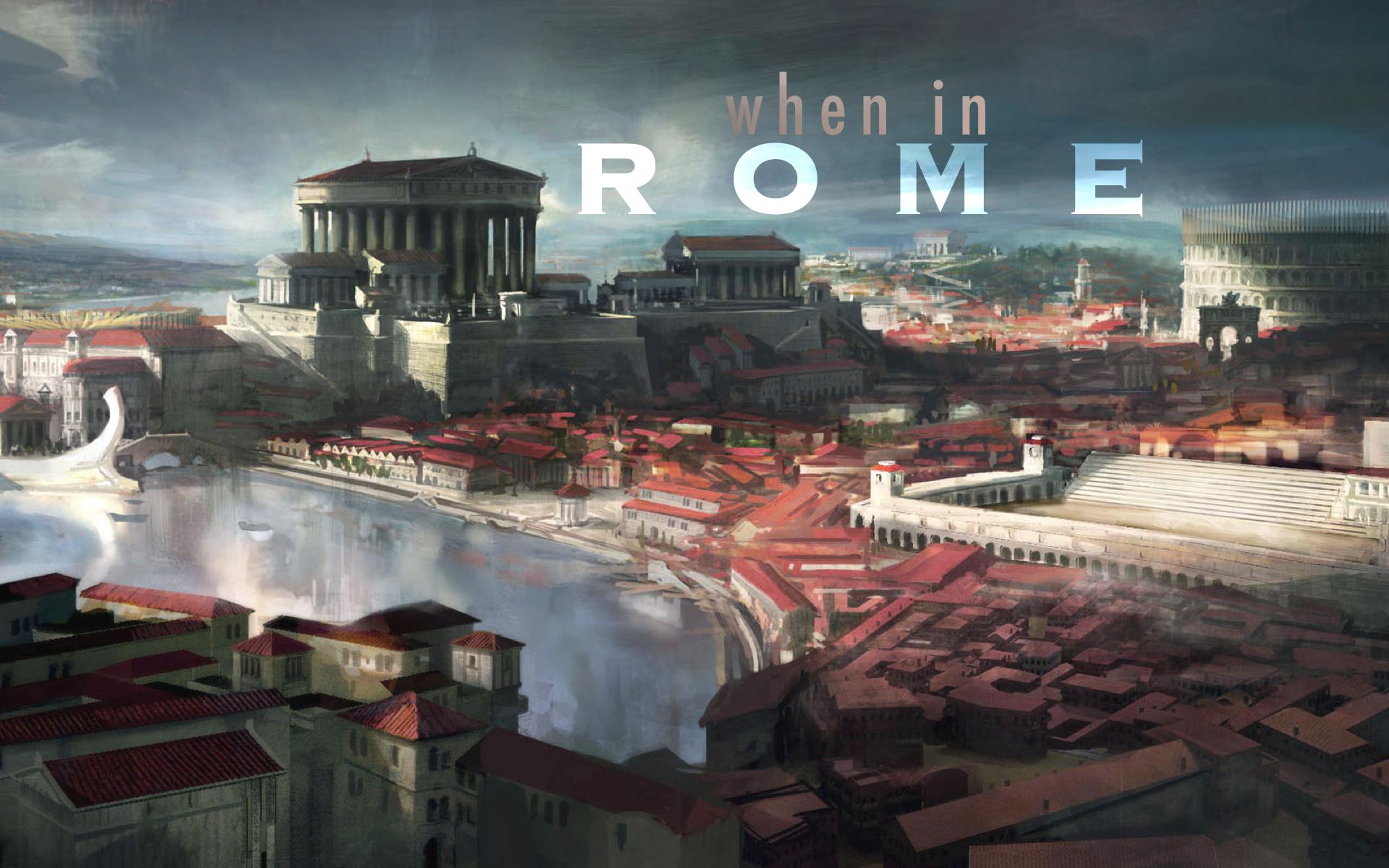 When in Rome  (Grade 3.5)