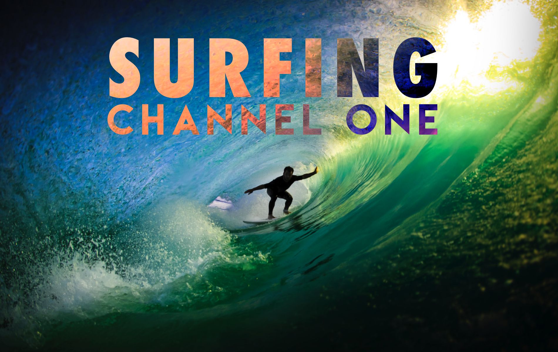Surfing Channel One  (NEW FOR 2020!)