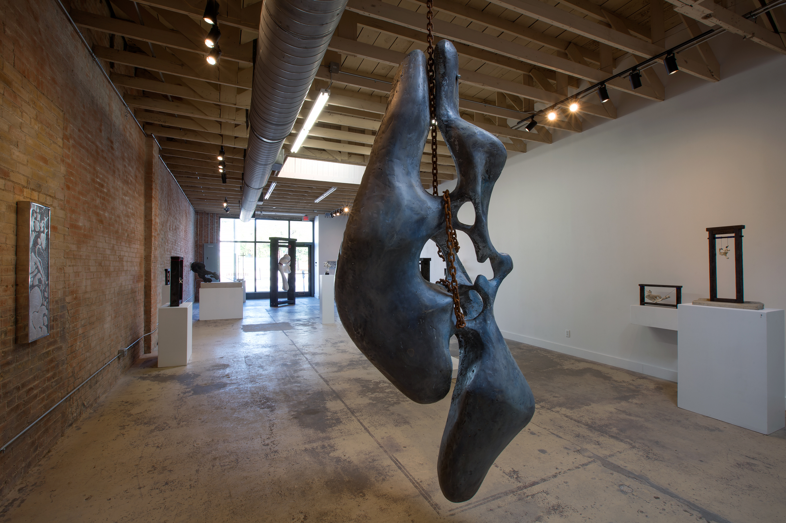 "2014 Solo Exhibition ""Remnants"" at Rachel Nash Gallery, Dallas, TX"