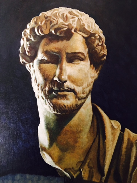 """Hadrian I"", Oil on Canvas, 2014"