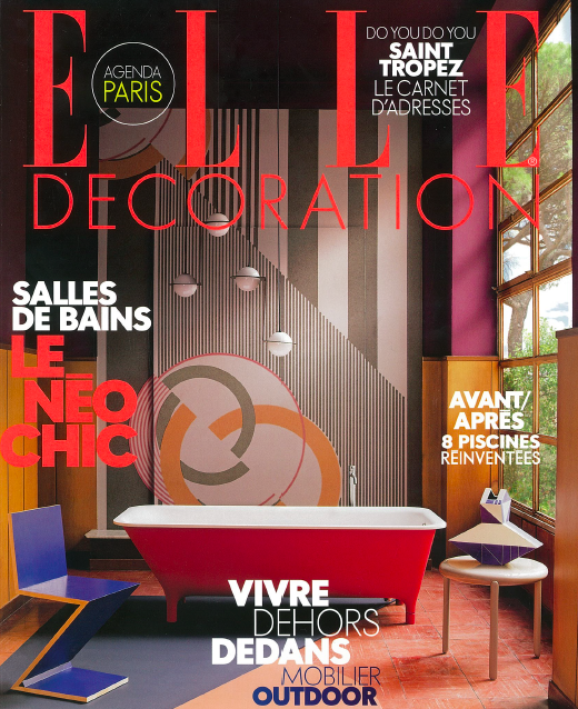 Elle Decoration - Henri Samuel, le french maestroMay 2018