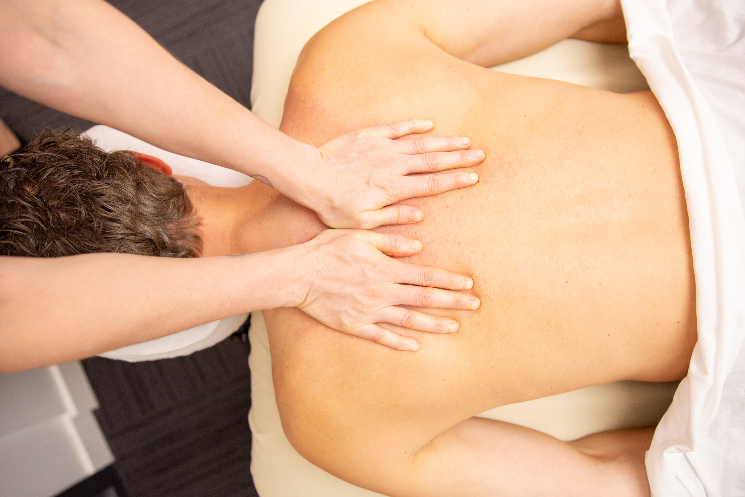 REGISTERED MASSAGE THERAPY   Massage therapy decreases stress and helps control pain.