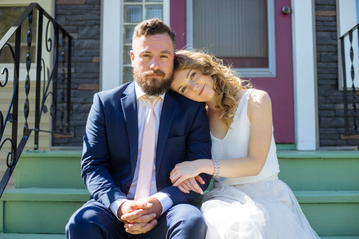 Karly & Byron - Casual Cool Edmonton Wedding