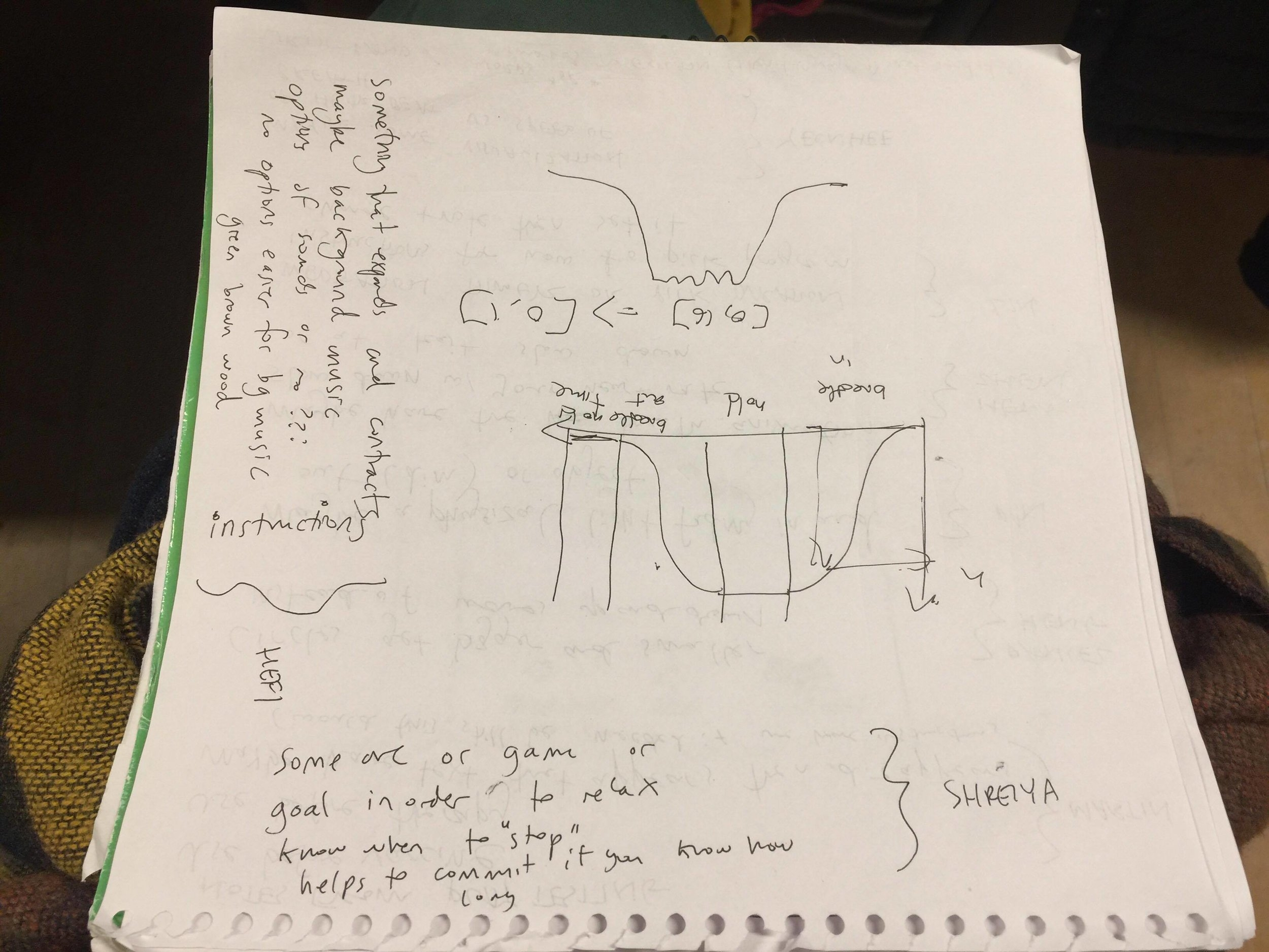Our notes from playtesting part two...(Click to enlarge)