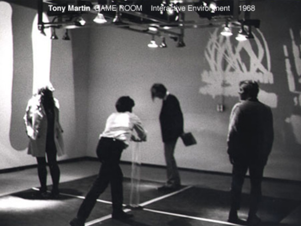 Tony Martin on Light, Sound and Assymetrical Experiences
