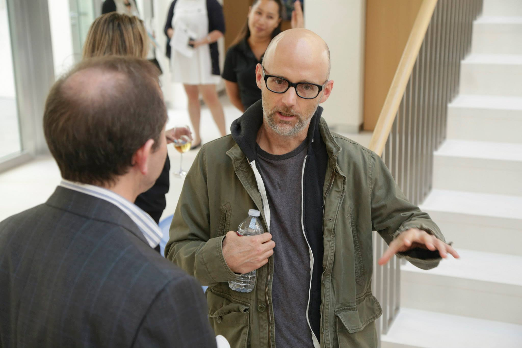 Award winning musician and activist   Moby at the   Future of Cities event in Beverly Hills   on June 2nd.