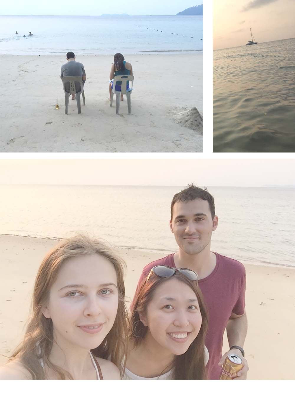 Diving with huge sea turtles / Sunbathing on the beach / Having good Asian food / Riding scooter at night /Walking on the street with few tourists -One of the best relaxing journey with my best friends.  No underwater photos because I haven't bought a GoPro yet.