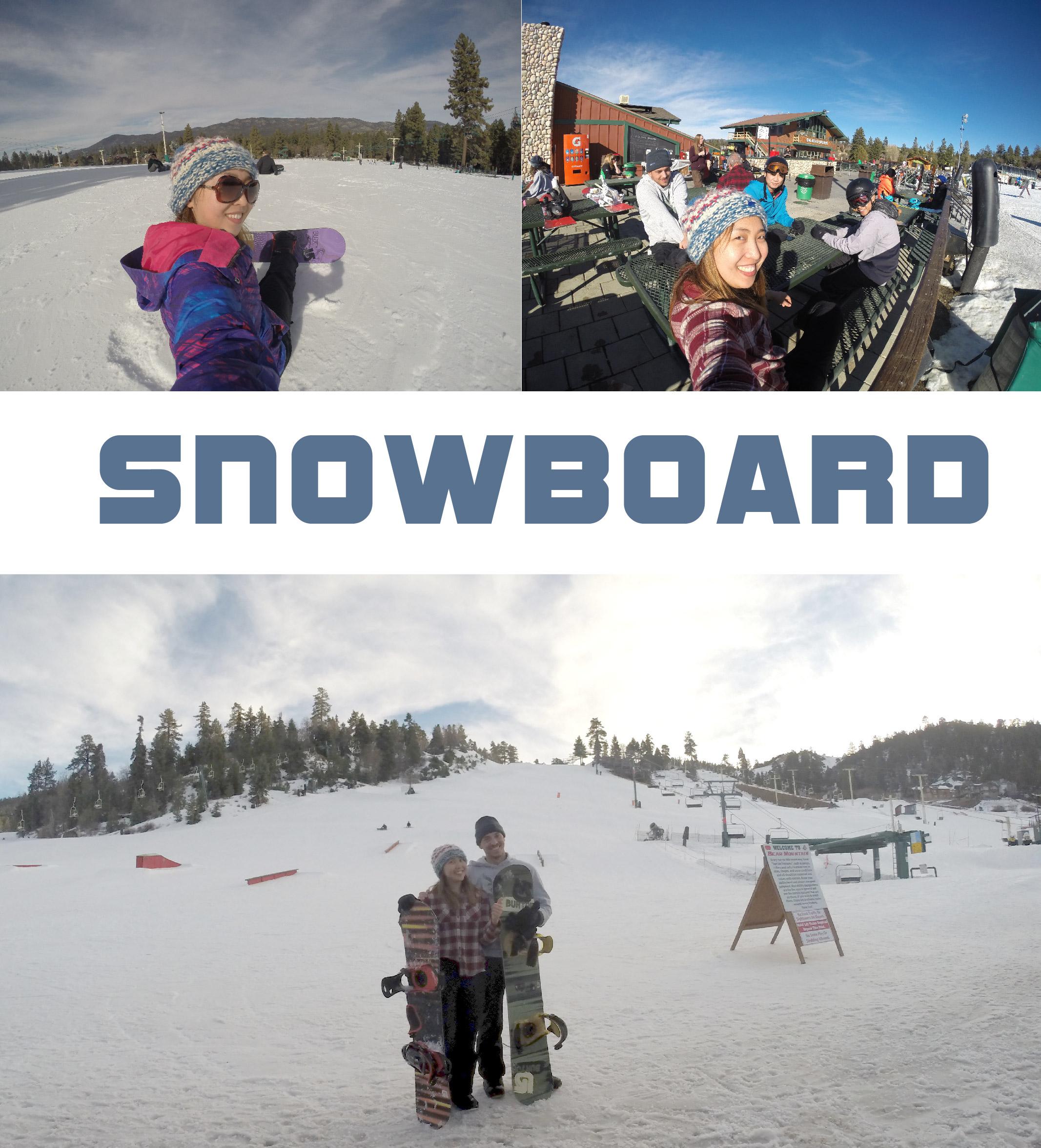 Snowboarding buddies I met in hostel