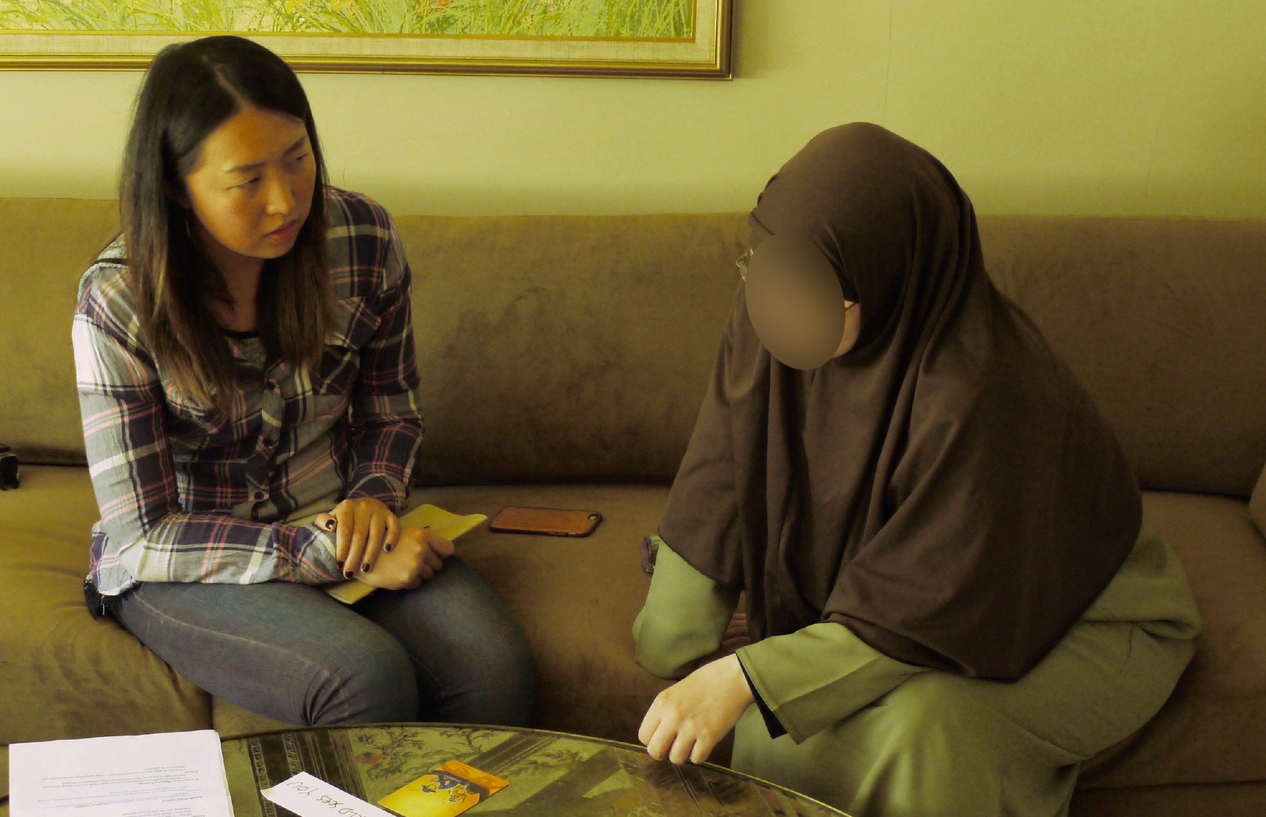 To understand Muslim in the US, I Interviewed a Muslim woman in Pasadena and used generative research methodologies   .